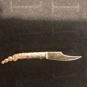 Vintage Dagger tie clip